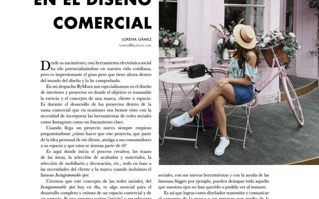 LAS REDES SOCIALES EN EL DISEÑO COMERCIAL – Columna para BCM WOMAN